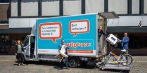 Verhuisbus actie Rabobank Walcheren/Noord-Beveland