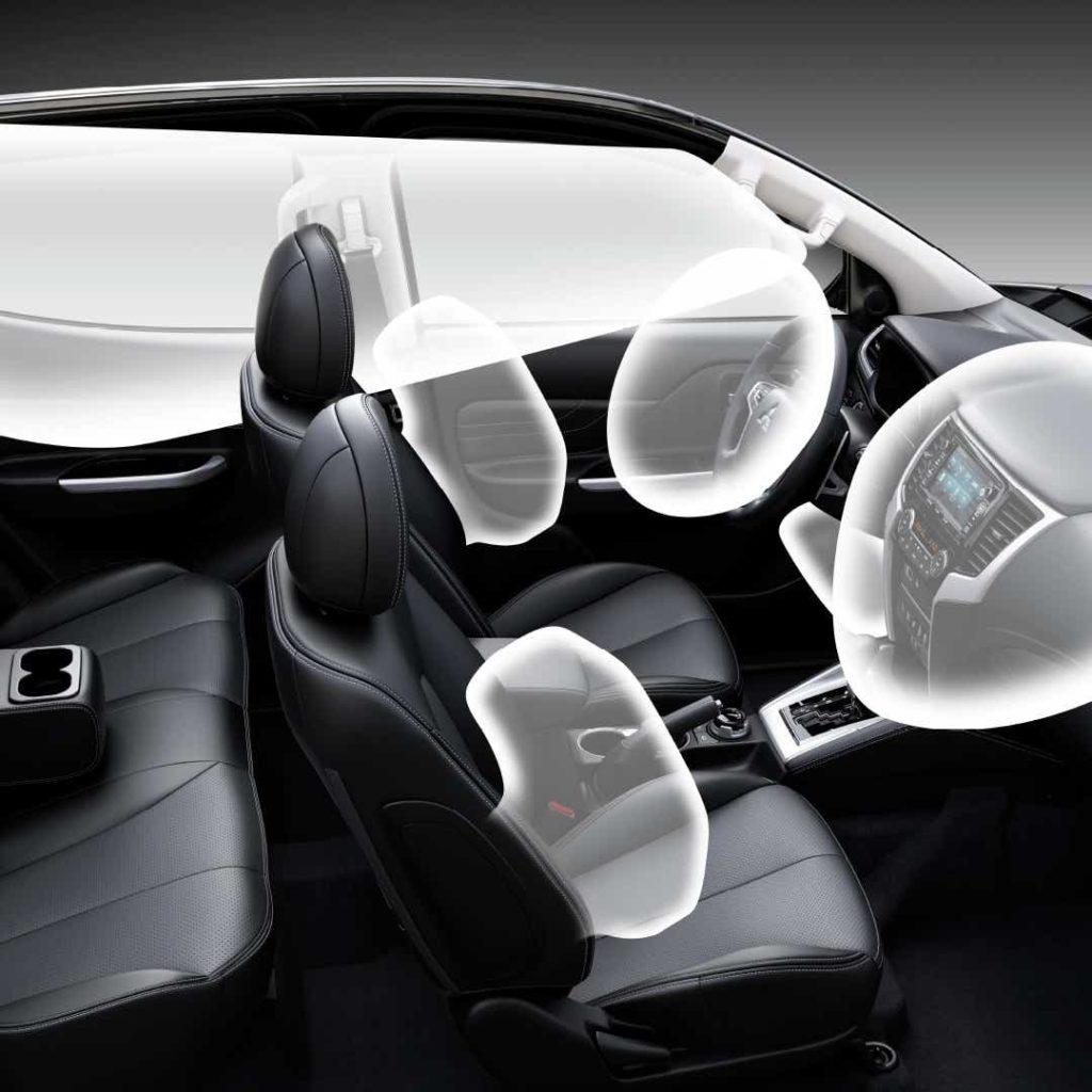 Mitsubishi L200 Veiligheid